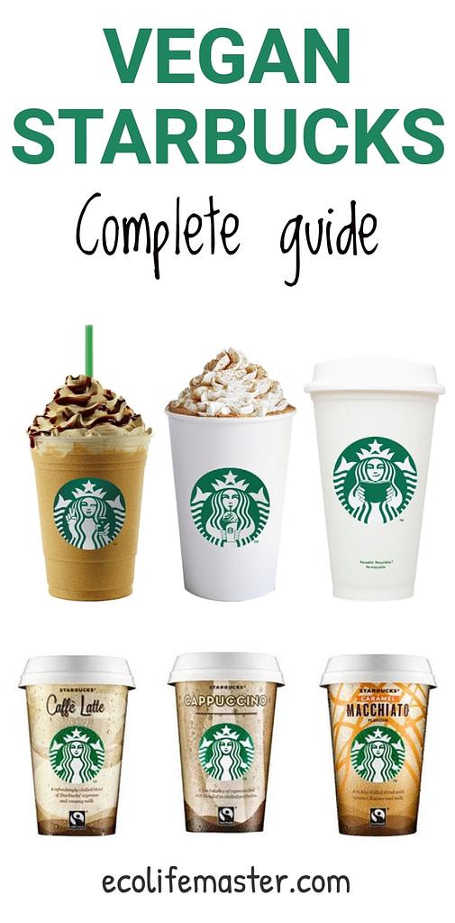 Dairy Free 45 Starbucks Drinks