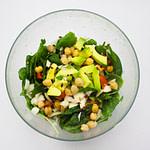 Vegan Chickpea Coconut Salad
