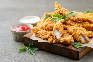 Vegan chicken strips