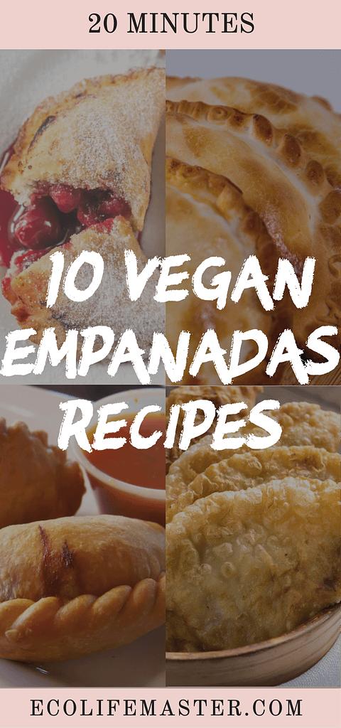 10 Vegan empanadas recipes