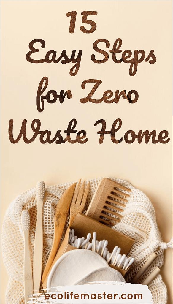 15 Ways to Live Zero Waste